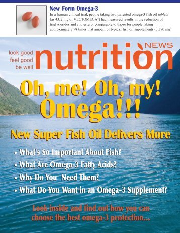 New Super Fish Oil Delivers More - Europharma