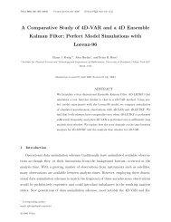 A Comparative Study of 4D-VAR and a 4D Ensemble Kalman Filter ...