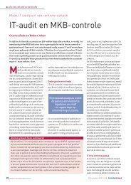 IT-audit en MKB-controle - Accountancy Nieuws