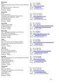 Euro Info Centre Network – DG Enterprise/B2 – Address List - Page 2