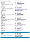 Euro Info Centre Network – DG Enterprise/B2 – Address List - Page 4