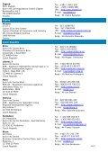 Euro Info Centre Network – DG Enterprise/B2 – Address List - Page 5