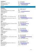 Euro Info Centre Network – DG Enterprise/B2 – Address List - Page 7