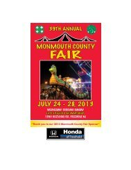 JULY 24 - 28, 2013 - Monmouth County