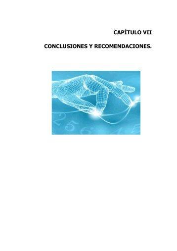 CAPÍTULO VII.pdf - Repositorio UTN