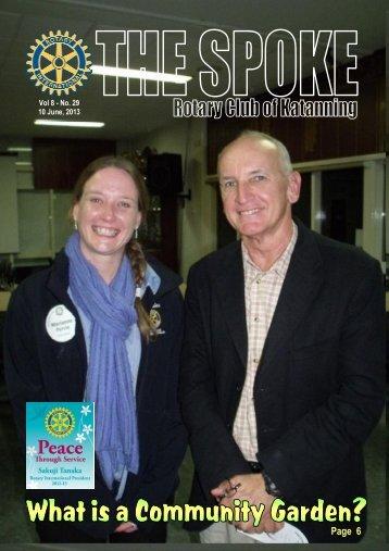 Vol 8-29-June 10 - Katanning Rotary Club