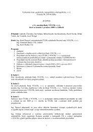 Zápis z 11. zasedání dne 2.12.2008 - vúgtk
