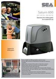 Saturn 600 - tormax danmark a/s