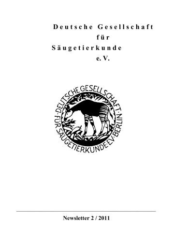 Deutsche Gesellschaft für Säugetierkunde eV