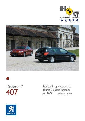 Motor og teknikk - SW - Peugeot