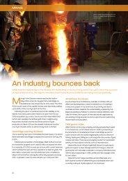 An industry bounces back - Business Advantage International