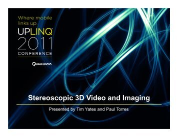 Stereoscopic-SD-Video-Imaging-Support-Snapdragon (pdf) - Uplinq