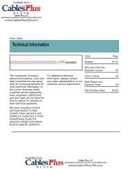 11 Tech Info 3FA.qxd - Cables Plus USA