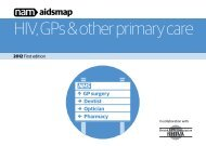HIV, GPs & other primary care - Aidsmap