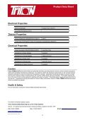 Trimol 50 Data Sheet Download - Triton Chemicals - Page 2
