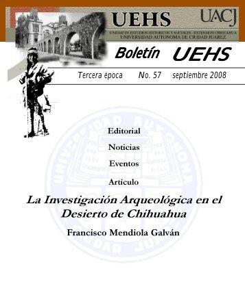 boletin 57 - Universidad Autónoma de Ciudad Juárez