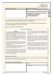 KS 501 - Spørgsmål til hjemmet til brug for vurdering af dit ... - klxml