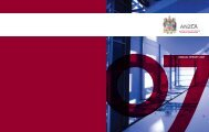 ANNUAL REPORT 2007 - Australian and New Zealand College of ...