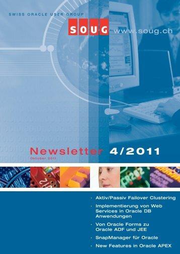 Newsletter 4/2011 - SOUG