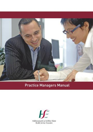 Practice Managers Manual - Irish Health Repository