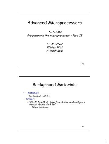Programming the Microprocessor - Ace