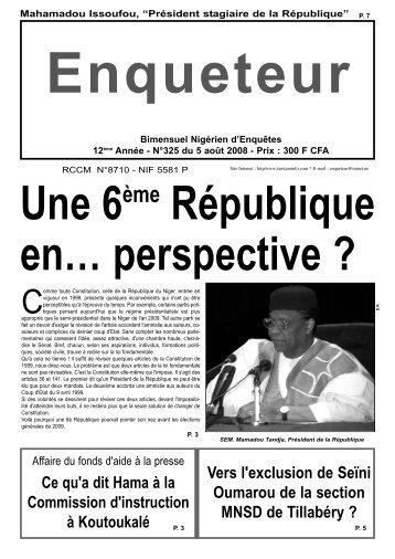 L'Enquêteur - Nigerdiaspora