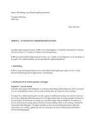 Barne- likestillings- og inkluderingsdepartementet Postboks 8036 ...