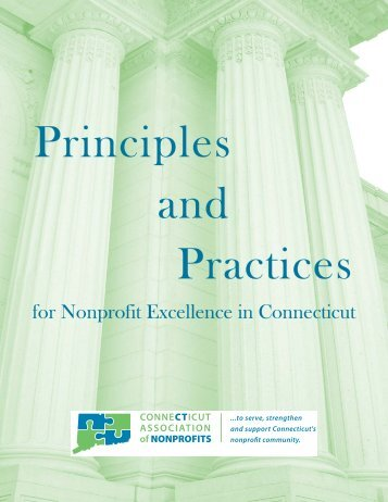 R - Principles and Practices for Nonprofit Excellence in Connecticut