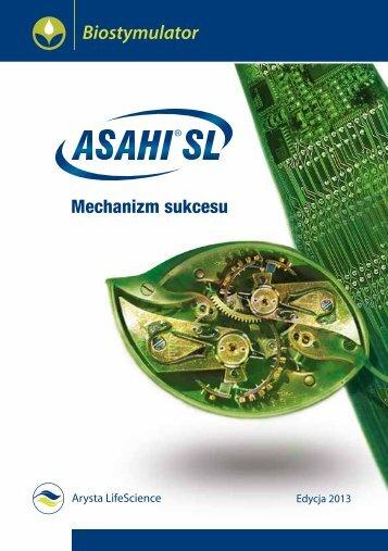 Broszura produktowa - Asahi SL