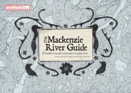 Sample pages from Mackenzie River Guide Book - MSS Ltd.