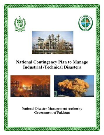 National Contingency Plan to Manage Industrial /Technical ... - NDMA