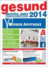 Hier klicken um das Jahresbuch als PDF ... - Widder-Apotheke