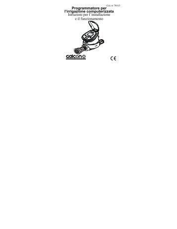 Centralina GALCON da pozzetto modello 7001 - Irrigarden