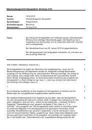 Oberlandesgericht Düsseldor... - Oeffentliche Auftraege