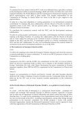 Ecumenical policy and plan of action for the Mission Covenant ... - Page 7
