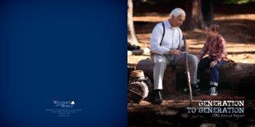 2012 Annual Report - Woodmen.org