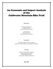 An Economic and Impact Analysis of the Coldwater ... - Atfiles.org