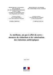 Le méthane, un gaz à effet de serre - cgedd