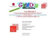 Infobroschüre zum Girls' Day 2014 - im Fachbereich Physik ...