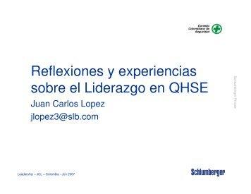 Reflexiones y experiencias sobre el Liderazgo en QHSE - Consejo ...