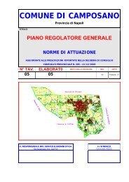 Piano Regolatore Generale - Comune di Camposano