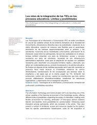 Los retos de la integración de las TICs en los procesos ... - Dialnet