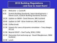 Beyond 2010 - Scottish Energy Systems Group - University of ...