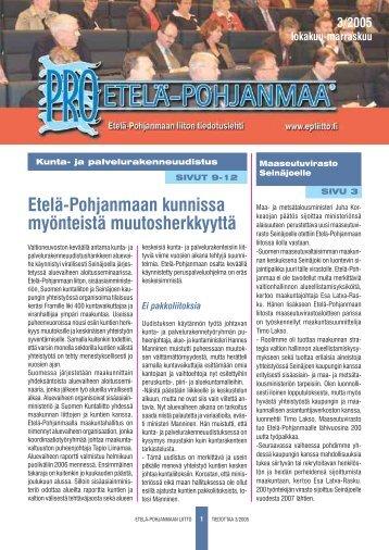 2005/3 - Etelä-Pohjanmaan liitto
