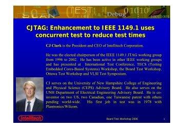 CJTAG - Board Test Workshop Home Page