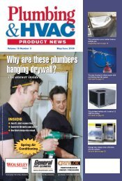Why are these plumbers hanging drywall? - Plumbing & HVAC