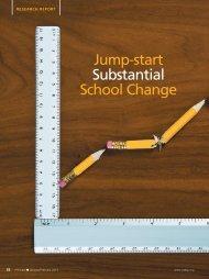 Jump-start Substantial School Change - National Association of ...