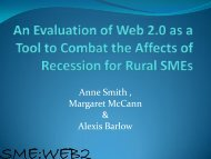 An Evaluation of Web 2.0 as a Tool to Combat the Affects of ...