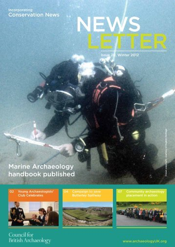 Newsletter Issue 20 - Council for British Archaeology