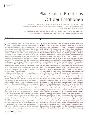 Place full of Emotions Ort der Emotionen